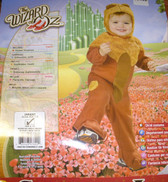 Cowardly Lion Wizard of Oz Costume NWT 6-12 Months