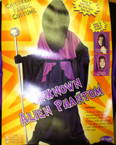 Unknown Alien Phantom Ghoul Costume Dress-up NWT M 8-10