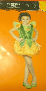 Pumpkin Pie Girl Dress Child Costume 12-18 Months NWT