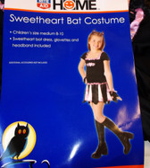 Sweetheart Bat Costume Dress Child S 4-6X NIP