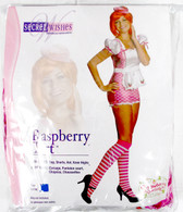 Strawberry Shortcake Raspberry Tart Costume Adult L 10-14 NIP