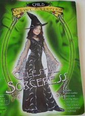 Celestial Sorceress Child Costume 4-6 NIP