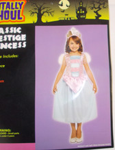 Classic Prestige Princess Child Costume Medium 8-10 NWT
