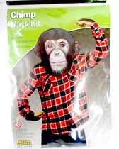 Rasta Imposta Chimp Mask kit Costume Adult OSFM NIP