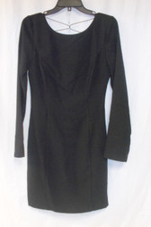 Maison Jules Women's Long Sleeve Pocket Deep Black L NWT