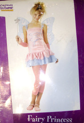 Blue Pink Fairy Princess Tween Dress Costume Child XL 12-14 NIP