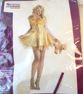 Goldilocks Deluxe Adult Costume Dress L 10-12 NIP