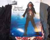 Beyond The Grave Skeleton Child Costume 10-12 NIP
