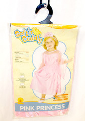 Rubies Soft N Cuddly Pink Princess Child Costume Dress Headpiece Toddler 2-4 NIP