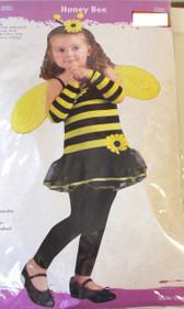 Honey Bee Toddler Costume 24 Months - 2T NWT