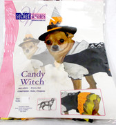 Rubies Secret Wishes Candy Witch Pet Costume XS NIP