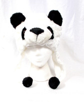 Panda Fur Winter Party Costume Hat Accessory Child NeW