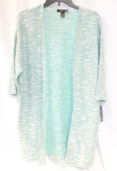 Style & Co. Green Mint Marbled Cardigan Sweater XS NWT