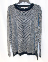 Rachel Roy Long Sleeve Hazy Stitch Pullover Sweater L NWT
