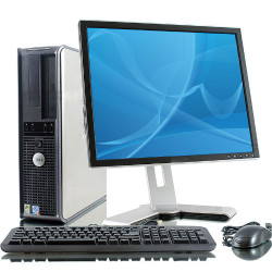"Dell OptiPlex 780 Desktop Computer Package, 19"" LCD, Core 2 Duo 3.00GHz Processor, Windows"