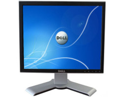 "Dell UltraSharp 17"" LCD Flat Screen Monitor With Stand 