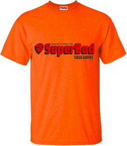 SuperBad Soulware Men's T-Shirt - Orange