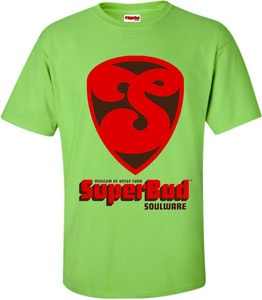 SuperBad Soulware Men's T-Shirt - S1 - Lime Green