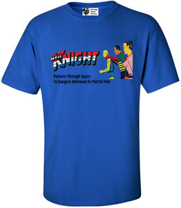 Vintage Black Heroes Men's T-Shirt - Neil Knight - 1 - Royal Blue