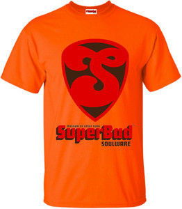SuperBad Soulware Men's T-Shirt - S1 - Orange
