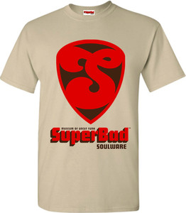 SuperBad Soulware Men's T-Shirt - S1 - Sand
