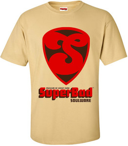 SuperBad Soulware Men's T-Shirt - S1 - Vegas Gold