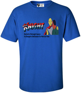 Vintage Black Heroes Men's T-Shirt - Neil Knight - 6 - Royal Blue