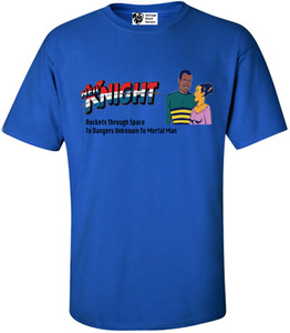 Vintage Black Heroes Men's T-Shirt - Neil Knight - 7 - Royal Blue