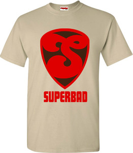 SuperBad Soulware Men's T-Shirt - S2 - Sand
