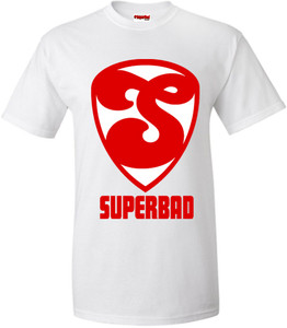 SuperBad Soulware Men's T-Shirt - S2 - White - RW