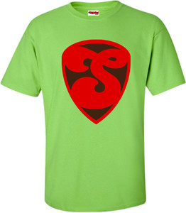SuperBad Soulware Men's T-Shirt - S3 - Lime Green