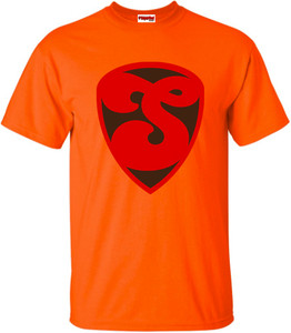 SuperBad Soulware Men's T-Shirt - S3 - Orange