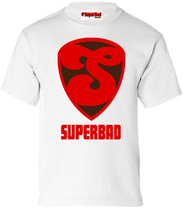 SuperBad Soulware Boys T-Shirt - S2 - White
