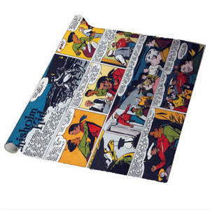 Vintage Black Heroes Wrapping Paper Sheets - The Chisholm Kid - CST9 - Package Of 5