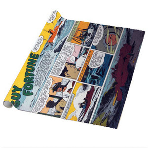 Vintage Black Heroes Wrapping Paper Sheets - Guy Fortune - CST12 - Package Of 5