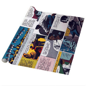 Vintage Black Heroes Wrapping Paper Sheets - Mark Hunt - CST5 - Package Of 5