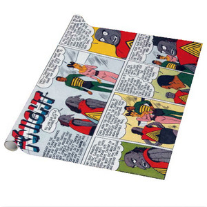 Vintage Black Heroes Wrapping Paper Sheets - Neil Knight - CST8 - Package Of 5