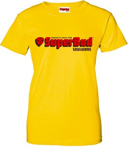 SuperBad Soulware Women's T-Shirt - Yellow