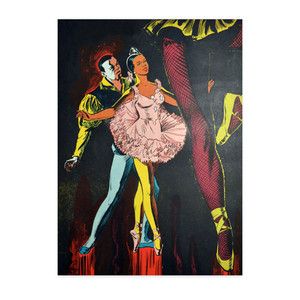 Afrotopia Notecards - Vintage Dancer - Package Of 10
