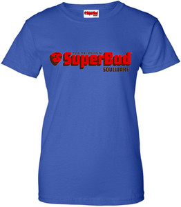 SuperBad Soulware Women's T-Shirt - Royal Blue