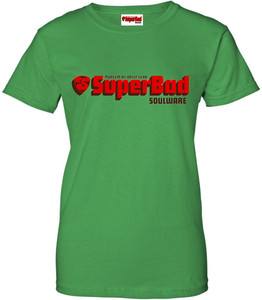 SuperBad Soulware Women's T-Shirt - Irish Green