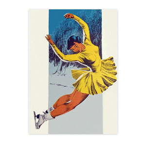 Afrotopia Postcards - Vintage Skater - Package Of 10