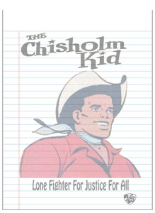 Vintage Black Heroes Notepad - The Chisholm Kid - 1