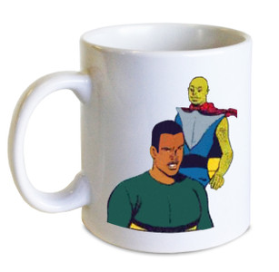 Vintage Black Heroes Mug - Neil Knight - 10