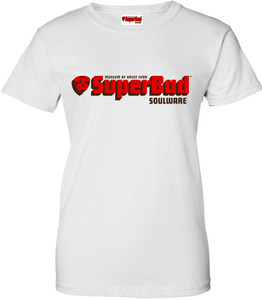 SuperBad Soulware Women's T-Shirt - White