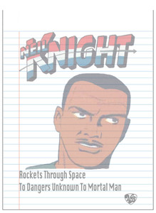 Vintage Black Heroes Notepad - Neil Knight - 2