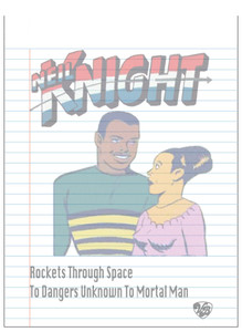 Vintage Black Heroes Notepad - Neil Knight - 7