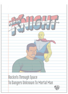 Vintage Black Heroes Notepad - Neil Knight - 10