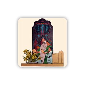 Afrotopia Coasters - Vintage Church - Package Of 10