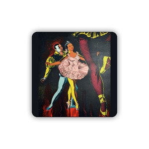 Afrotopia Coasters - Vintage Dancer - Package Of 10